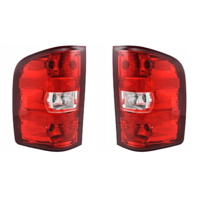 Fits 07-14 Silverado, 3500 Sierra Left & Right Set Tail Lamp Assemblies (more than 1 Option see Details)