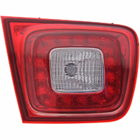 Fits 13-15  Malibu 2016 Malibu Limited Left Driver Tail Lamp Assembly w/LED Lid Mounted