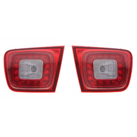 Fits 13-15 Chevrolet Malibu 2016 Malibu Limited Left & Right Set Tail Lamp Assem w/LED Lid Mounted