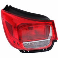 Fits 13-16 Chevrolet Malibu Left & Right Set Tail Lamp Assemblies without Led Quarter Mounted