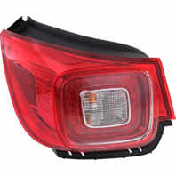 Fits 13-16 Chevrolet Malibu Left Driver Tail Lamp Assembly w/Led Quarter Mounted