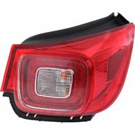 Fits 13-16 Chevrolet Malibu Right Passenger Tail Lamp Assembly w/Led Quarter Mounted