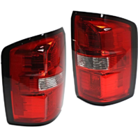 Fits 14-15 GMC Sierra 1500, Denali Left & Right Set Tail Lamp Assemblies