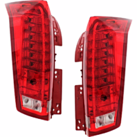 Fits 10-16 Cadillac SRX Left & Right Set Tail Lamp Assemblies