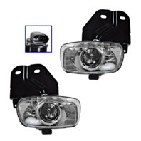 Fits 99-00 Cadillac Escalade 99-00 GMC Yukon Denali Left & Right Fog Lamp Assem