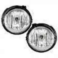 Fits 06-11  HHR (except SS) L & R Fog Lamps w/clear lens w/bulb shield (pair)