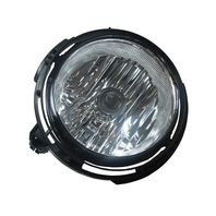 Fits 06-11 Chevy HHR (except SS) Left Driver Fog Lamp assy w/clear lens w/bulb shield