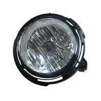 Fits 06-11  HHR (except SS) Right Pssgr Fog Lamp assy w/clear lens w/bulb shield
