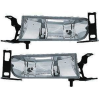 Fits 00-05 Cadillac DeVille Left & Right Fog Lamp Assemblies (pair)