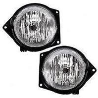 Fits 07-10 Hummer H3; 09-10 H3T; 06 H3 w/2nd design L & R Fog Lamp Assemblies (pair)