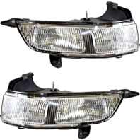 Fits 06-11 Cadillac DTS Left & Right Fog Lamp Assemblies (pair)