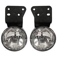 Fits 99-05 Pontiac Grand Am Left & Right Fog Lamp Assemblies (pair)