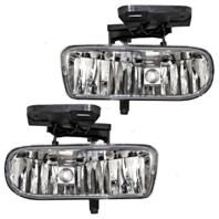 Fits 99-02  Silverado; 00-06 Tahoe (Exc Z71) Left & Right Fog Lamps (pair)