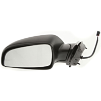 Fits 08-12 Malibu Left Driver Mirror Power Textured Black No Heat Or Auto Dim