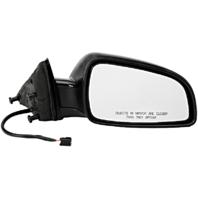 Fits 08-12 Malibu Right Passenger Mirror Power Textured No Heat Or Auto Dim