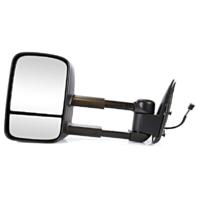 Fits 99-02 Silverado / Sierra Left Driver Power Mirror Tow Man Telescopic W/Heat