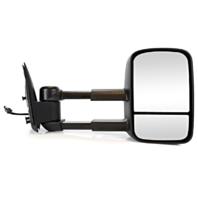 Fits 99-02 Silverado / Sierra Right Pass Pwr Tow Mirror Manual Telescopic w/Heat