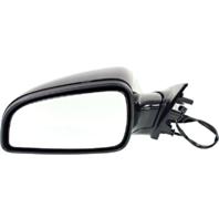 Fits 08-12 Malibu 07-10  Aura Left Driver Mirror Power Smooth Black W/Heat