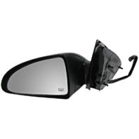 Fits 04-05 Chev Malibu / Maxx Left Driver Mirror Power Textured Black W/Heat