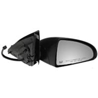 Fits 06-07 Malibu / Maxx Right Passenger Mirror Power Non-Painted Black W/Heat