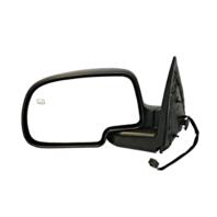 Fits 99-02 Silverado / Sierra Left Driver Power Mirror Man Fold W/Heat No Light