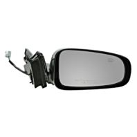 Fits 00-05  Impala Right Passenger Mirror Power Gloss Black w/Heat