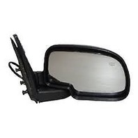 Fits 02 Escalade, Avalanche Right Pass Power Mirror Textured Folding with Heat