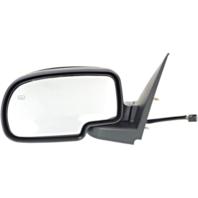 Fits 99-02 Silverado / Sierra Left Driver Mirror Power w/Heat Man Fold No Light
