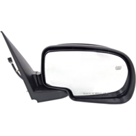 Fits 02 Escalade / Avalanche Right Pass Mirror Power W/Ht Manual Fold No Light