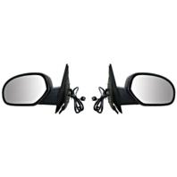 Fits 07-13 Silverado 07-13 Sierra Right & Left Set Power Mirror Heat Manual Fold