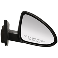 Fits 13-15  Spark Right Passenger Mirror Manual Remote Unpainted Black