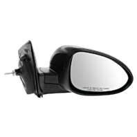 Fits 12-17  Sonic Right Passenger Mirror Manual Remote Unpainted Black