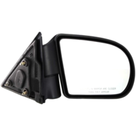Fits 98-04 Sonoma 99-01 Jimmy Right Pass Mirror Manual Foldaway Textured