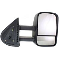 Fits 07-14 Silverado Suburban Avalanche Right Pass Mirror Manual Telescopic Tow