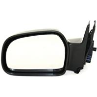 Fits 99-04 Chev Tracker 99-05  Vitara Left Driver Manual Mirror Unpainted