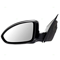 Fits 11-15 Cruze 16 Cruze Limited Left Driver Mirror Power Unpainted Black