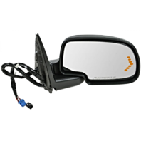 Fits 00-06 Suburban Yukon Right Pass Power Mirror W/Sig, Heat, Memory, Pwr Fold