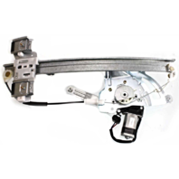 Fits 00-05 Pont Bonneville Left Driver Window Regulator & Motor w/out Auto Down