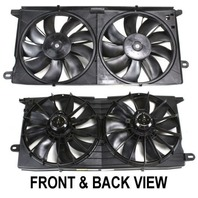 Dual Cooling Fan Assembly, Fits 00-05  Lesabre, 00-05 Pont Bonneville