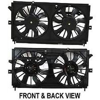 Radiator Cooling Fan Assm For 00-03 Monte Carlo Impala w/o Heavy Duty Cooling