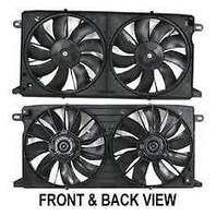 Dual Cooling Fan Assm For 00-05 Deville 01-03 Aurora