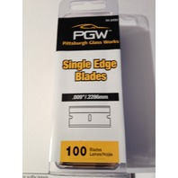 200 Single Edge Razor Blades Industrial Grade #9 (2) 100 packs  PGW