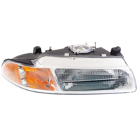 Fits 95-00 Stratus, Breeze, Cirrus Right Pas Headlamp w/standard beam pattern