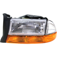 Fits 98-03 Dg Durango Right Passenger Composite Headlamp w/park signal lamp