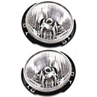 For 18-19 Jp Wrangler 2020 Gladiator Left & Right Set Headlamp Assembies Halogen