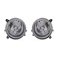 Fits 07-10  Compass & 07-16 Patriot L & R Headlamp Assem w/o leveling (pair)