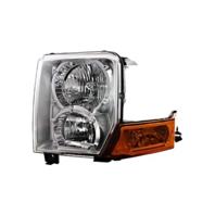 Fits 06-10 Jeep Commander Left Driver Halogen Headlamp Assembly