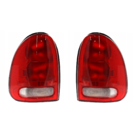 Fits 96-00 Dg Caravan / Chry Town & Country / Plymouth Voyager / 98-03 Dg Durango Left and Right Set Tail Lamp Unit Assembly w/Circuit Board
