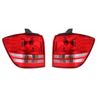 Fits 10-18 Journey Left & Right Set Tail Light Assm Quarter Mounted without Leds