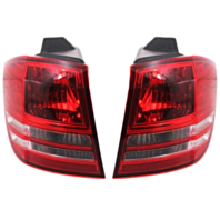 Fits 2009 Dodge Journey Left & Right Tail Light / Lamp Assem non LED Qtr Mounted